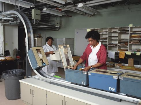 Sorting medical records in the 1990s 